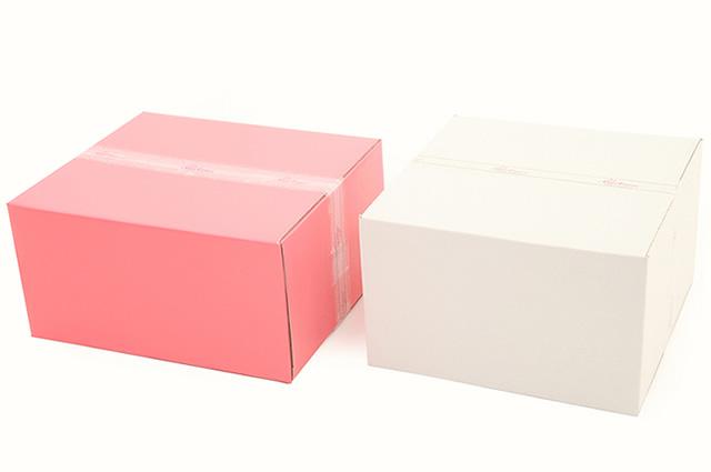 引き出物宅配用の化粧箱(ギフトボックス)
